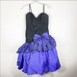 VINTAGE 80's Lorelei Retro Prom Formal Dress
